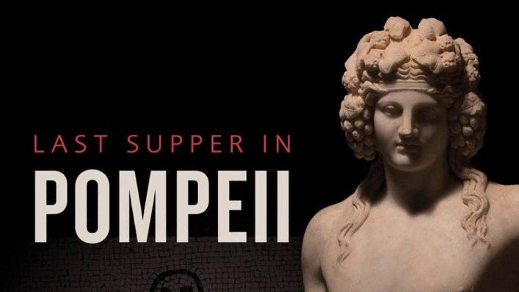Last Supper in Pompeii Exhibition at the Ashmolean Museum