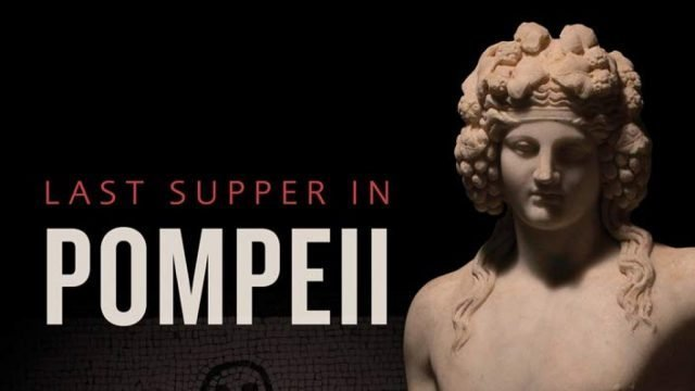 Last Supper in Pompeii Exhibition at the Ashmolean Museum