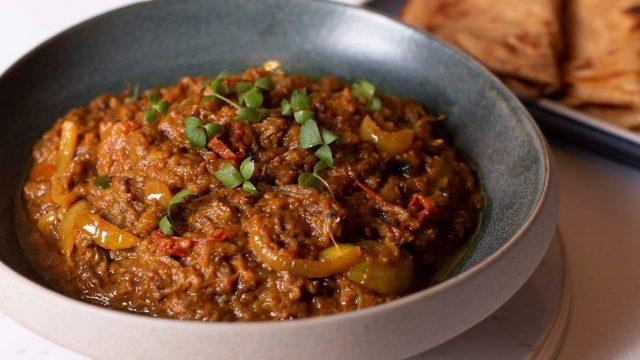 Lorna's Baingan ka Bharta (Smoked Aubergine) Recipe