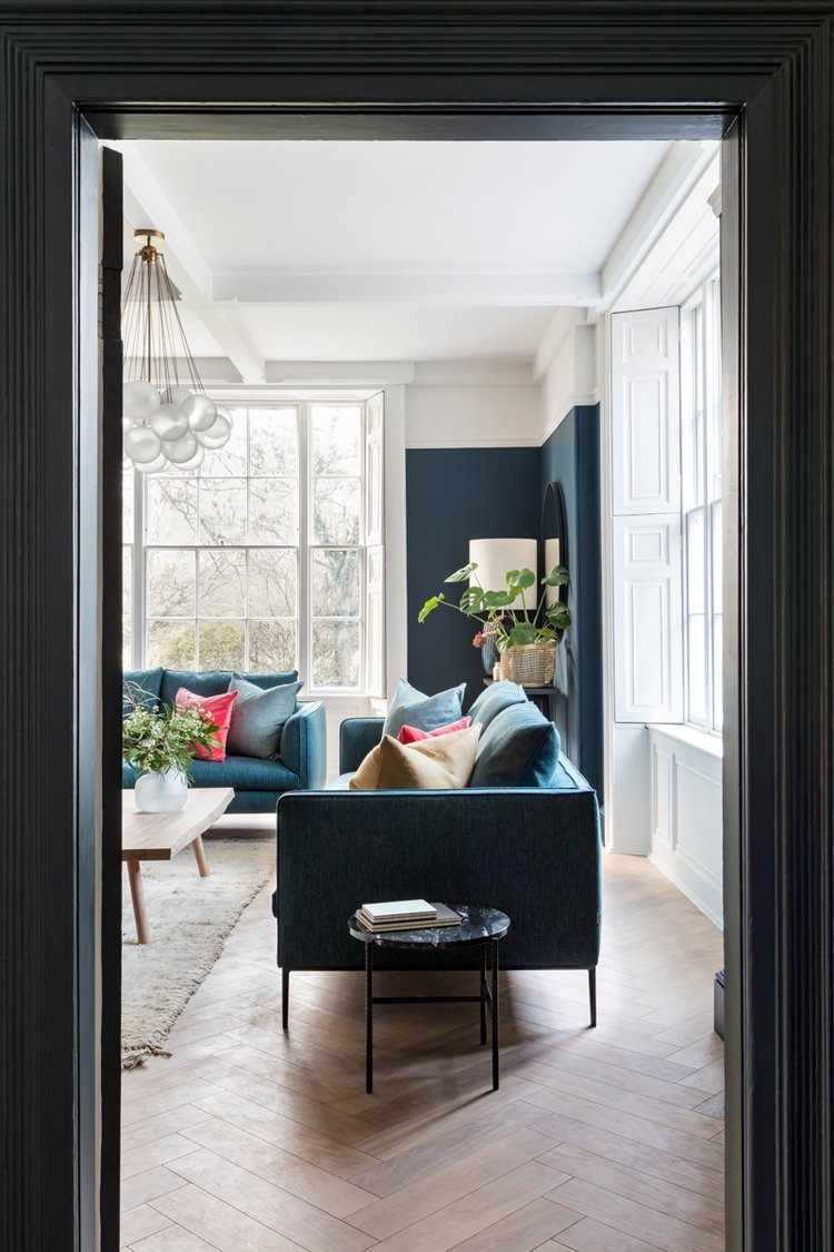 The Old Rectory Oxfordshire by Louise Holt Interior Design 15