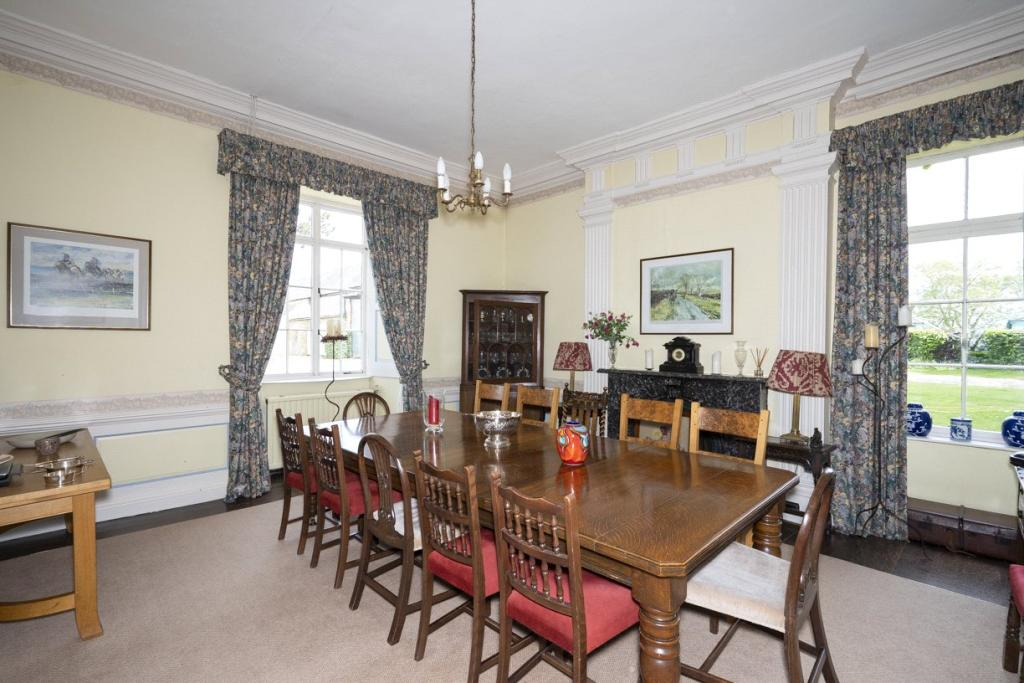 Lower Court Estate - Lower Court Manor House Dining Room