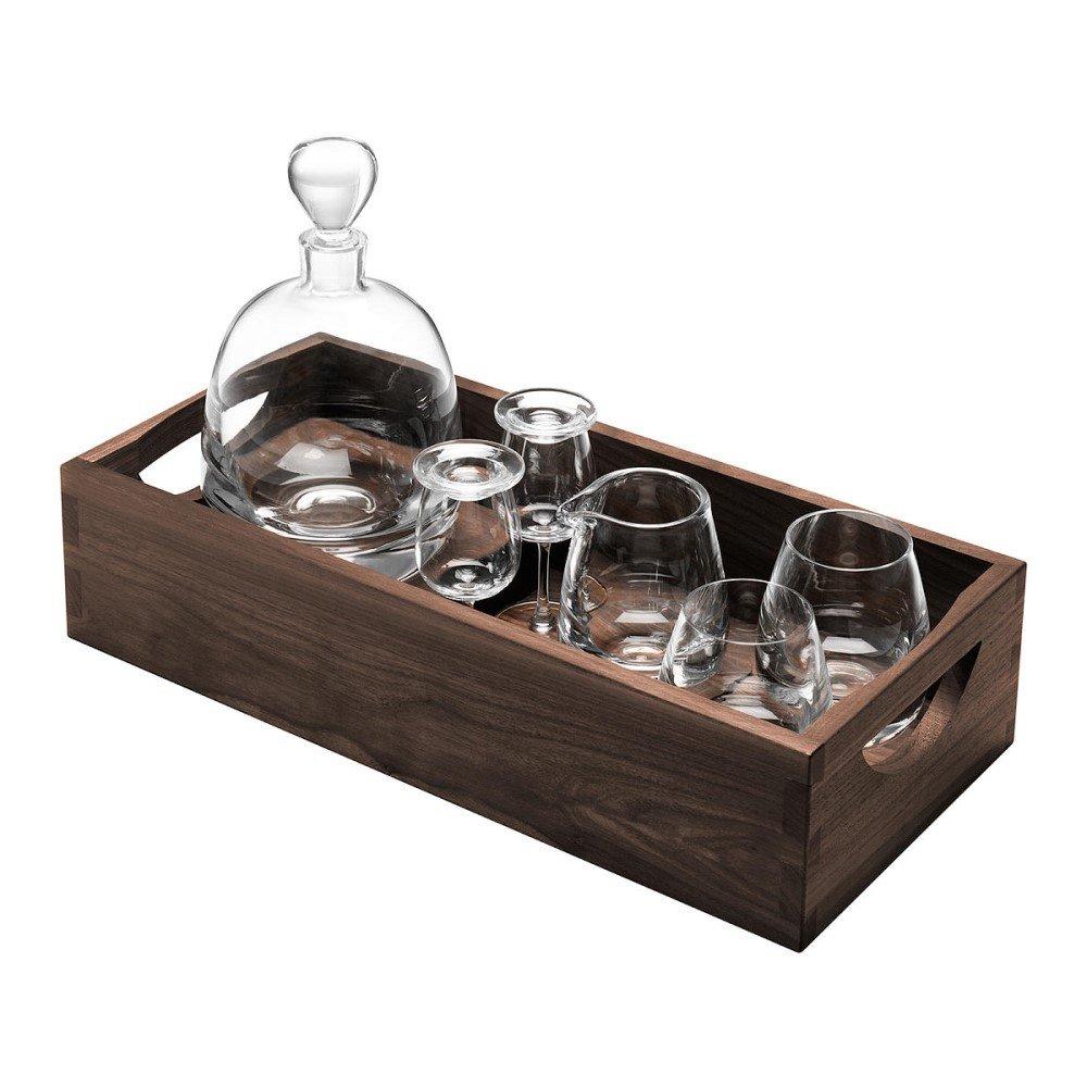 Luxury Gift for the Whisky Lover - LSA International Whisky Decanter & Glasses Gift Set