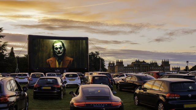 Drive-in cinema set to return to Blenheim Palace