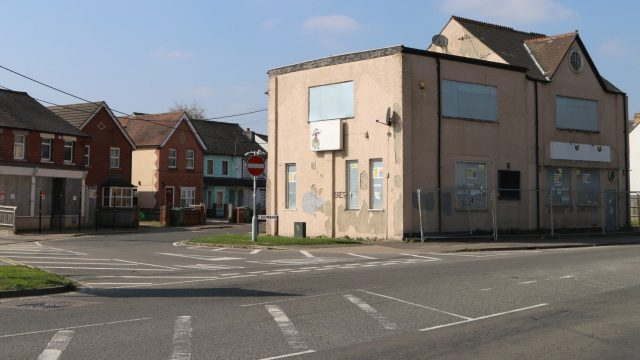 Demolition of derelict buildings starts in the centre of Didcot. Image: Lydalls Road and Labour Club