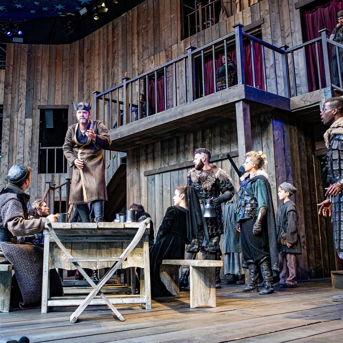Macbeth at Shakespeare's Rose Theatre, Blenheim Palace