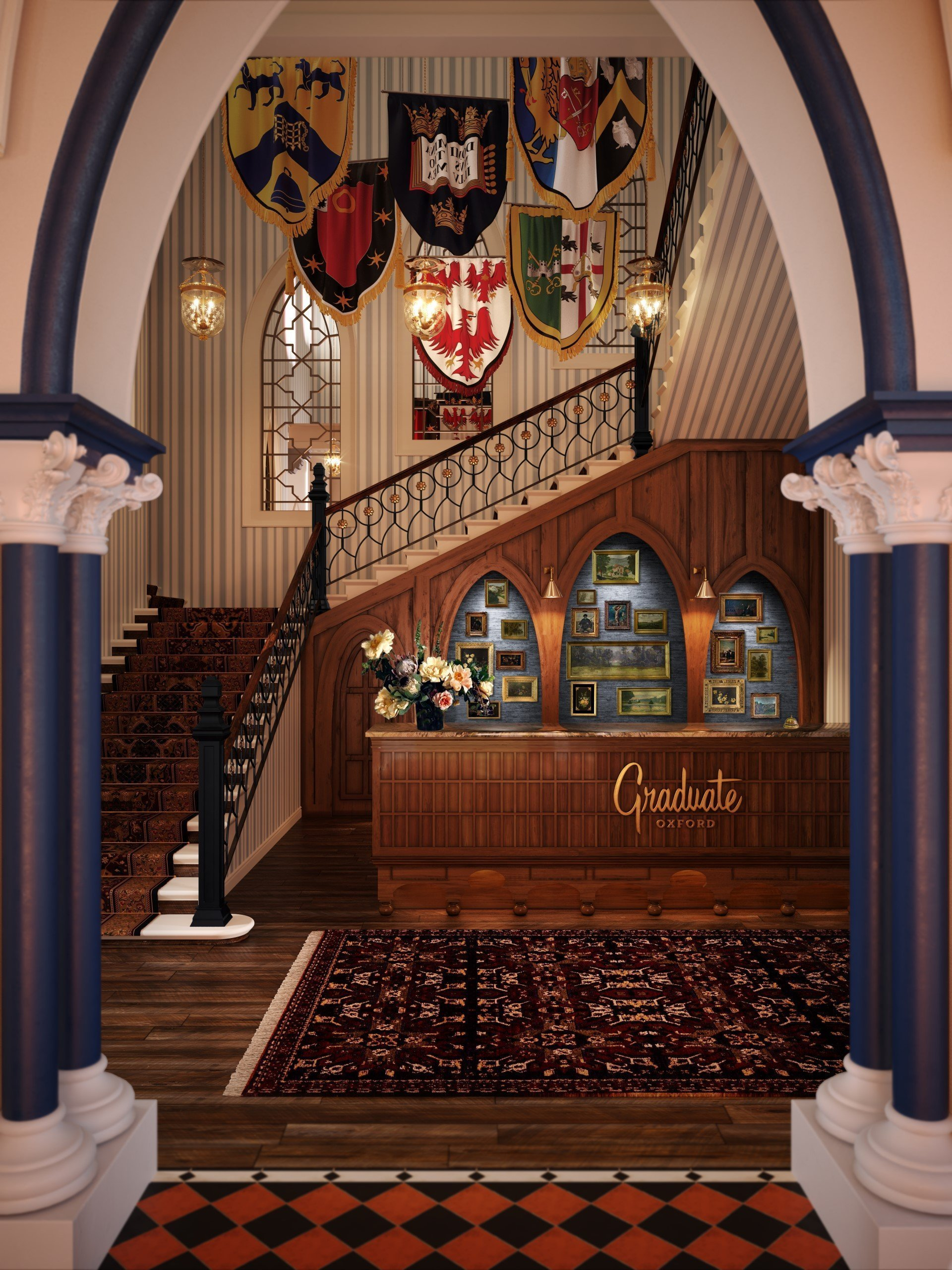 Macdonald Randolph Hotel Refurbishment - Reception