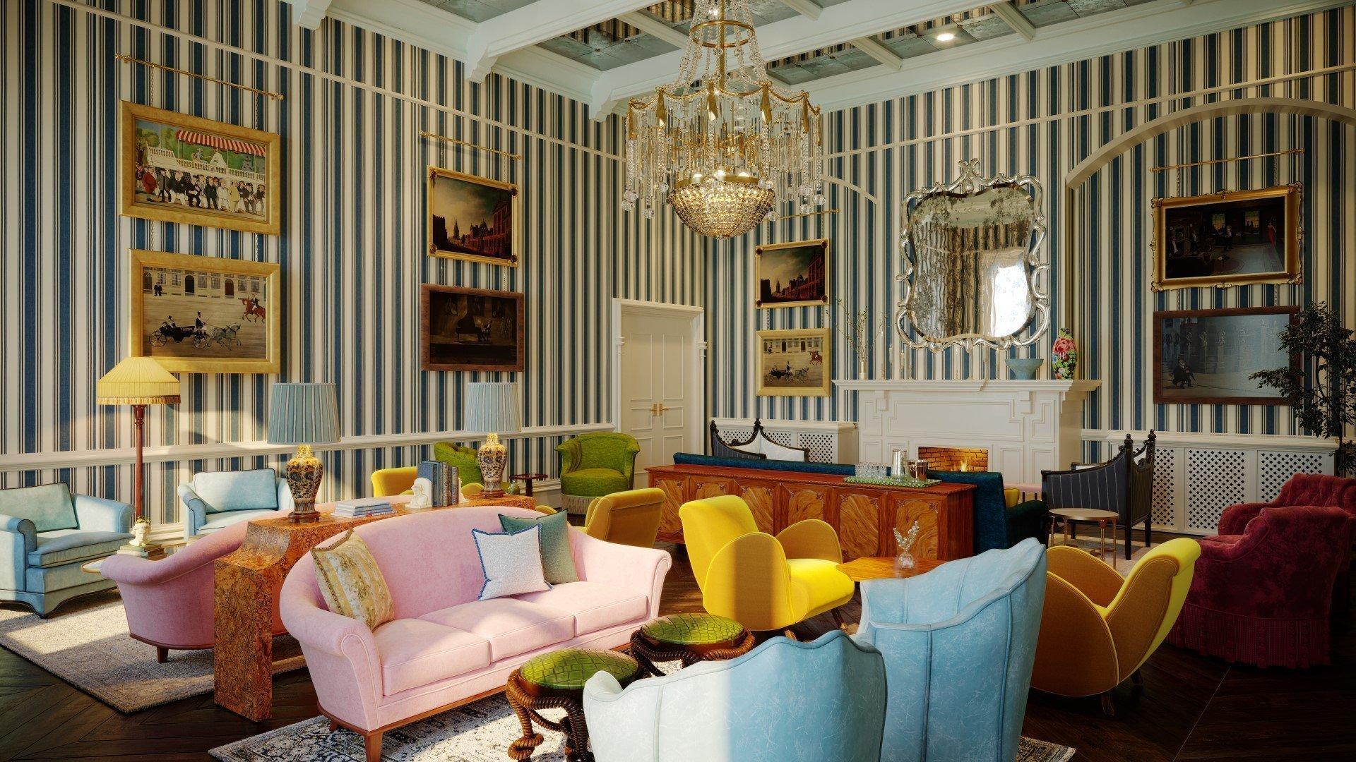 Macdonald Randolph Hotel Refurbishment - Drawing Room