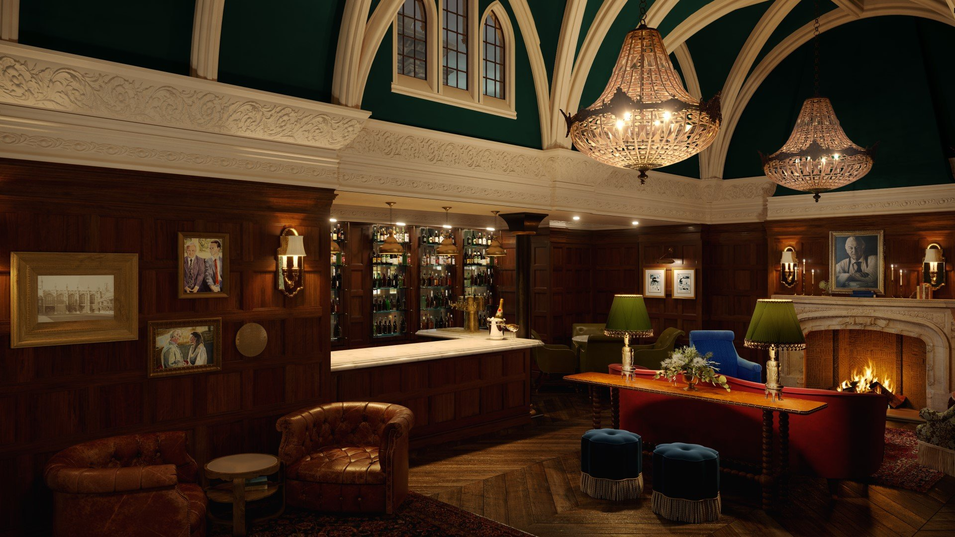 Macdonald Randolph Hotel Refurbishment - Bar