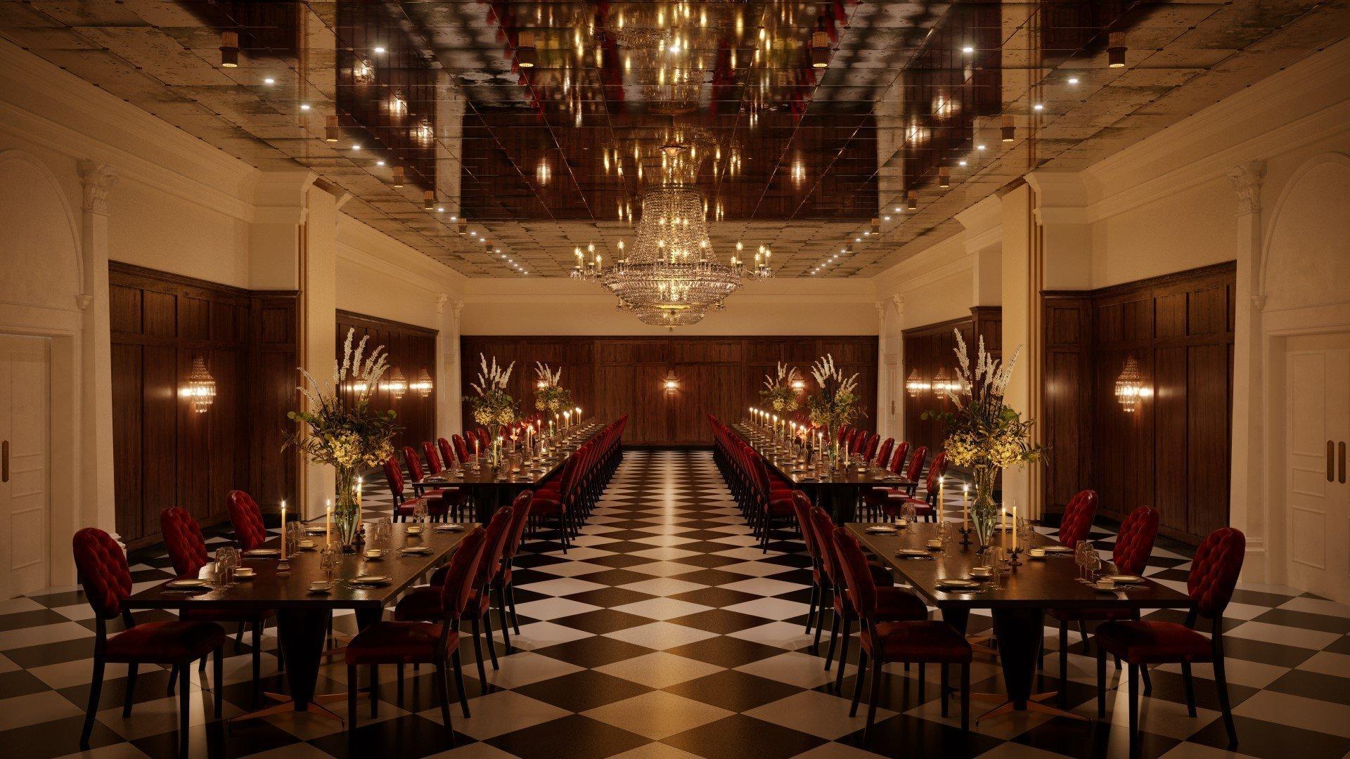 Macdonald Randolph Hotel Refurbishment - Ballroom
