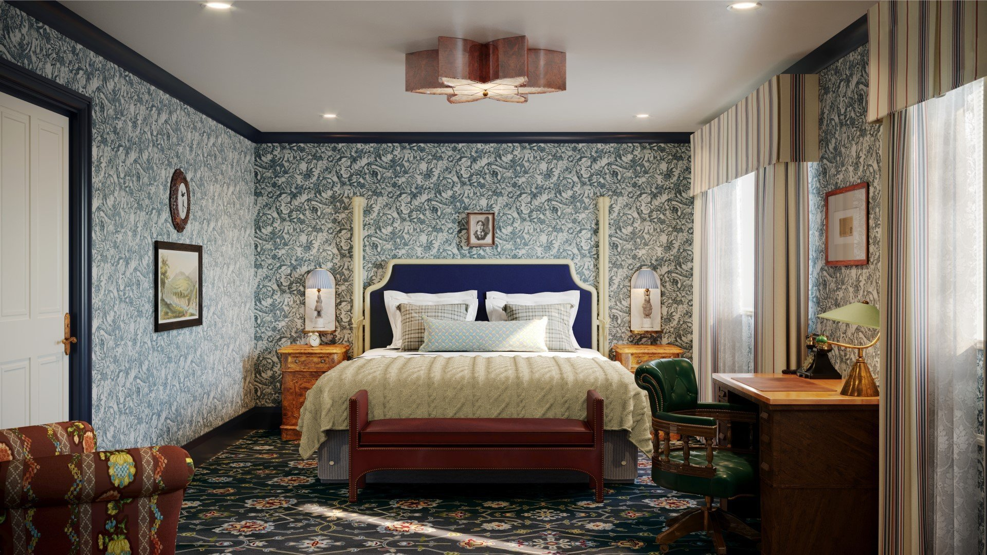 Macdonald Randolph Hotel Refurbishment - Bedroom