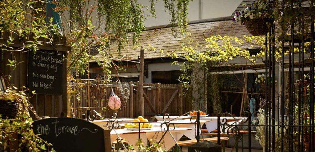 Magdalen Arms Restaurant - Exterior - Back