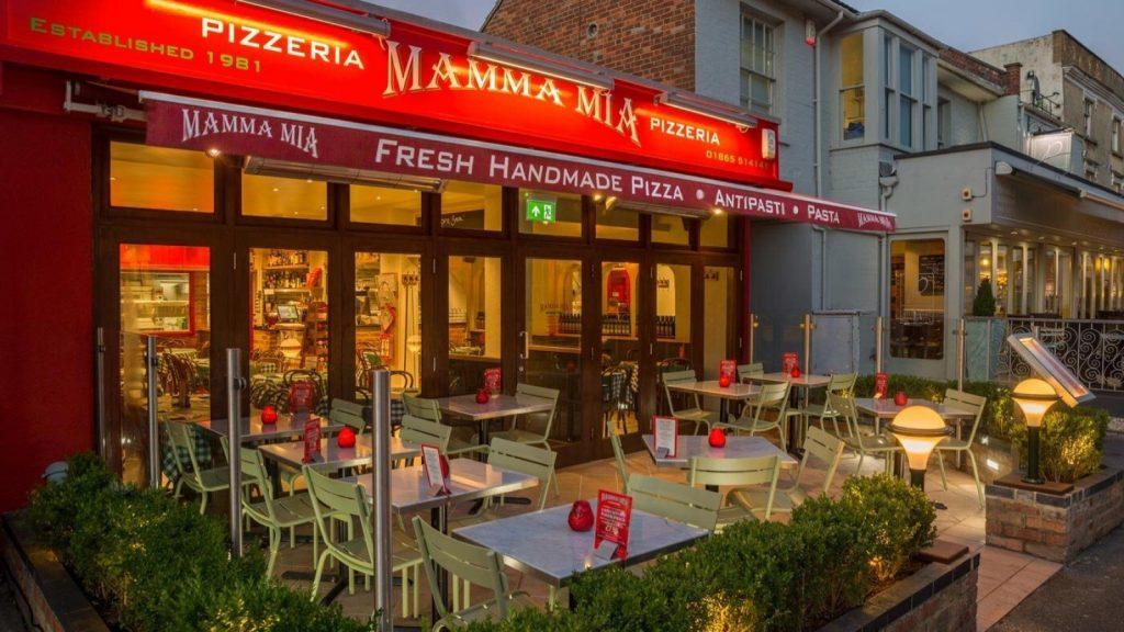 Mamma Mia Pizzeria, Summertown, Oxford