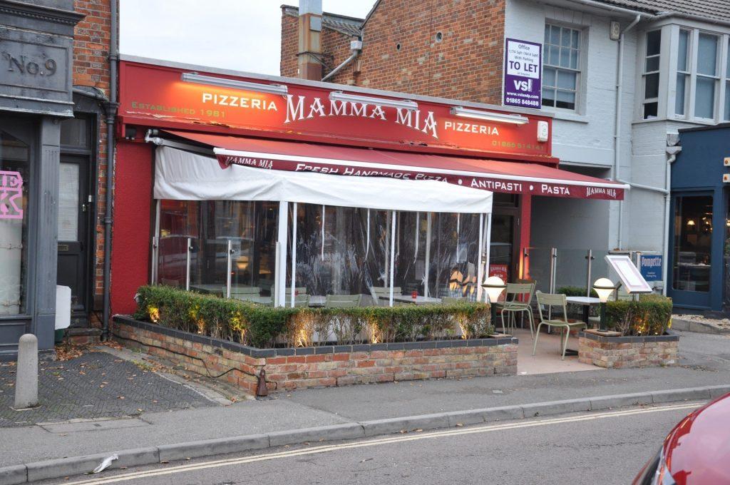 Mamma Mia Pizzeria, North Parade, Summertown, Oxford