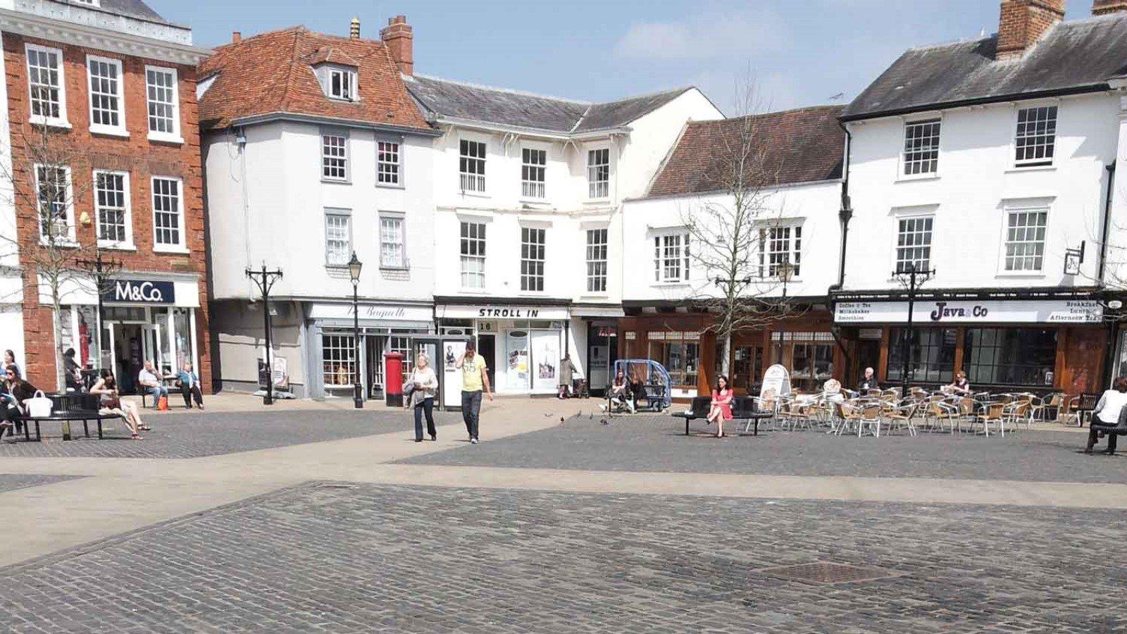 Market Place, Abingdon-on-Thames, Oxfordshire