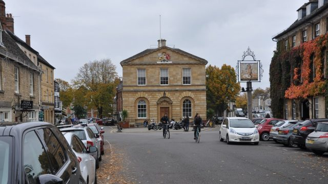Market Place, Woodstock, Oxfordshire