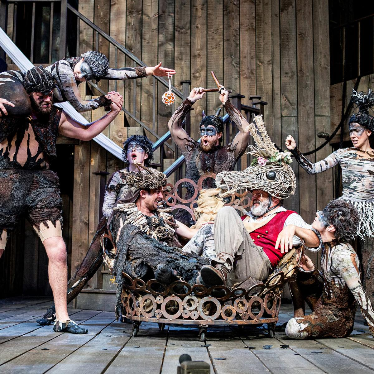 A Midsummer Night's Dream at Shakespeare's Rose Theatre, Blenheim Palace