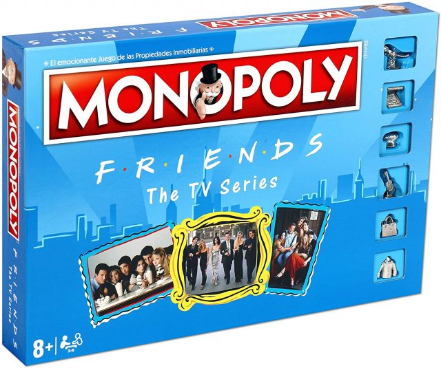 Monopoly Friends Edition Board Games