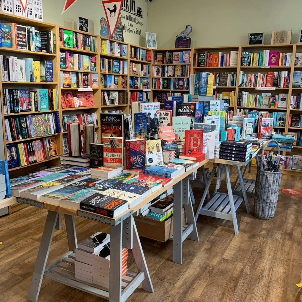 Oxfordshire's independent bookshops: Mostly Books, Abingdon