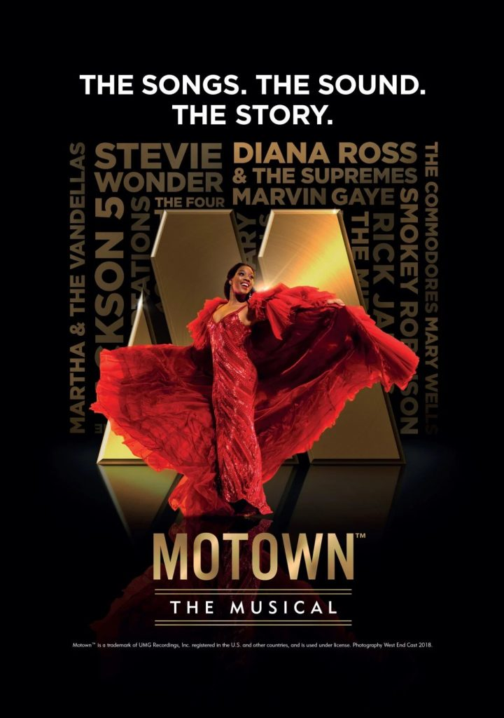 Motown The Musical at New Theatre, Oxford Poster