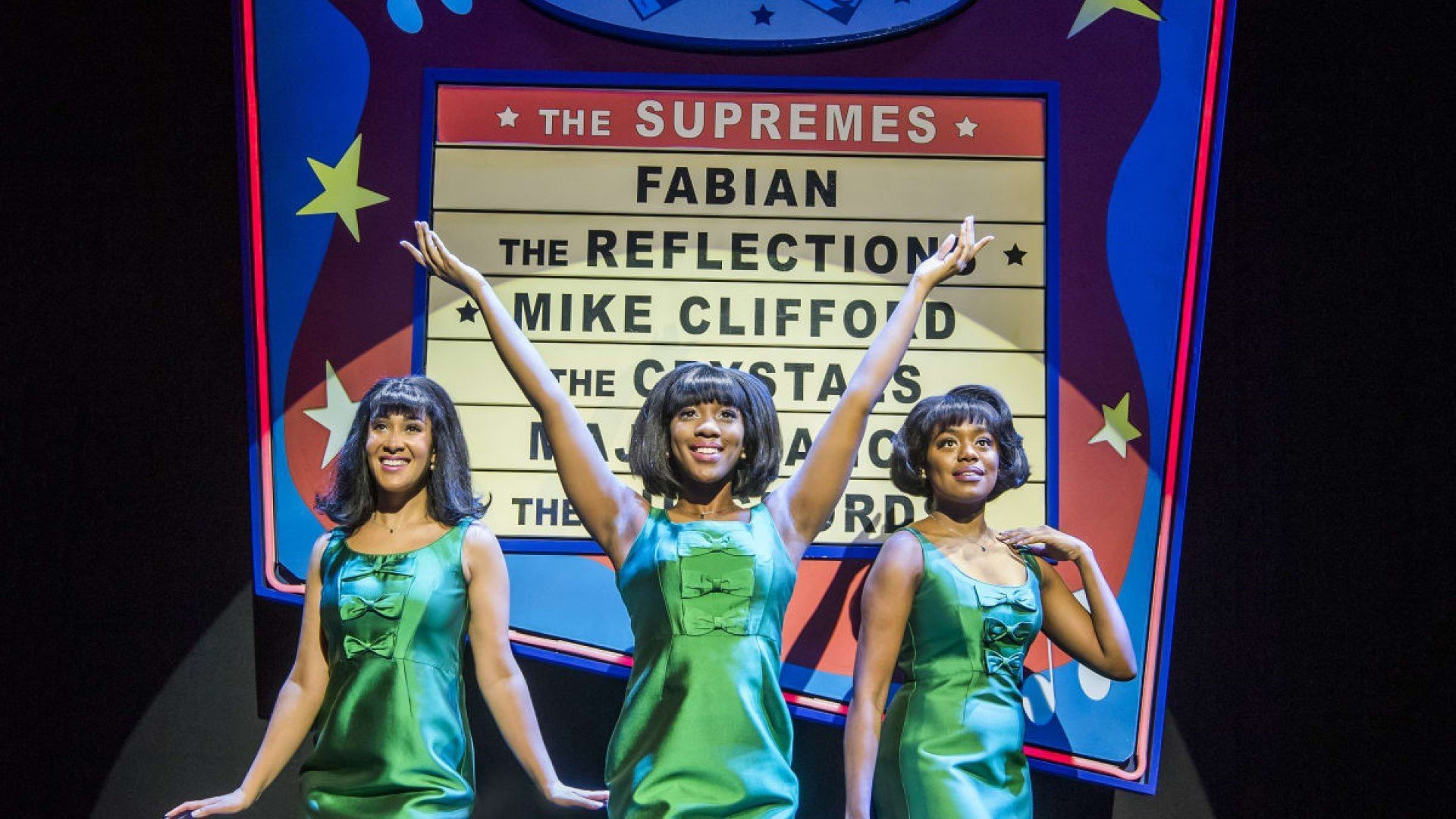 Motown The Musical at New Theatre, Oxford