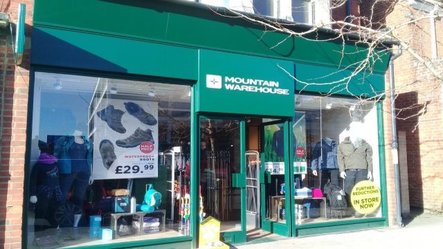 Mountain Warehouse Summertown Oxford