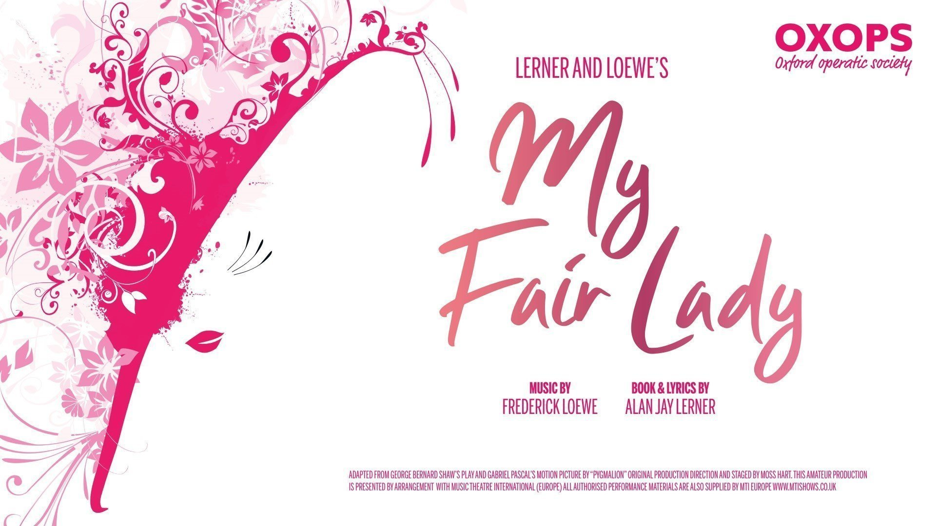 My Fair Lady by OXOPS at New Theatre Oxford