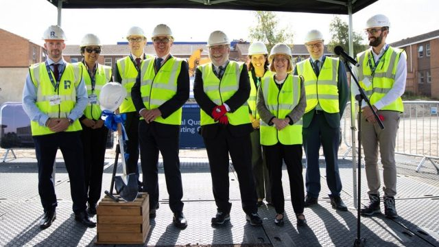 Breaking-ground for National Quantum Computing Centre at Harwell