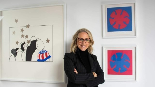 Nicola Green's exhibition, Unity, opens to mark the inauguration of President Biden