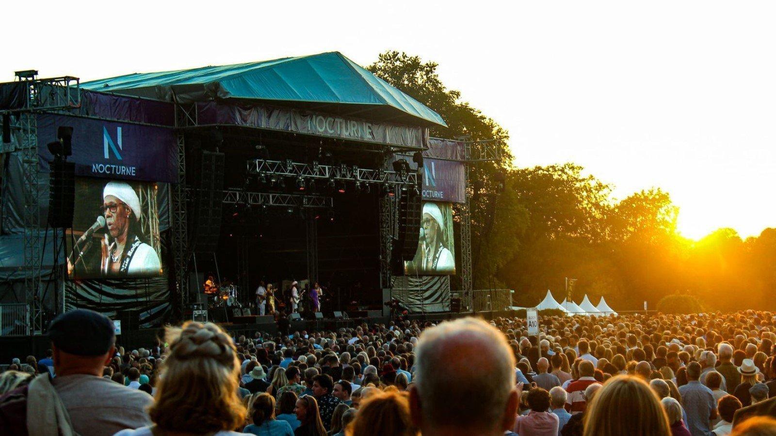 Nocturne Live 2022 at Blenheim Palace