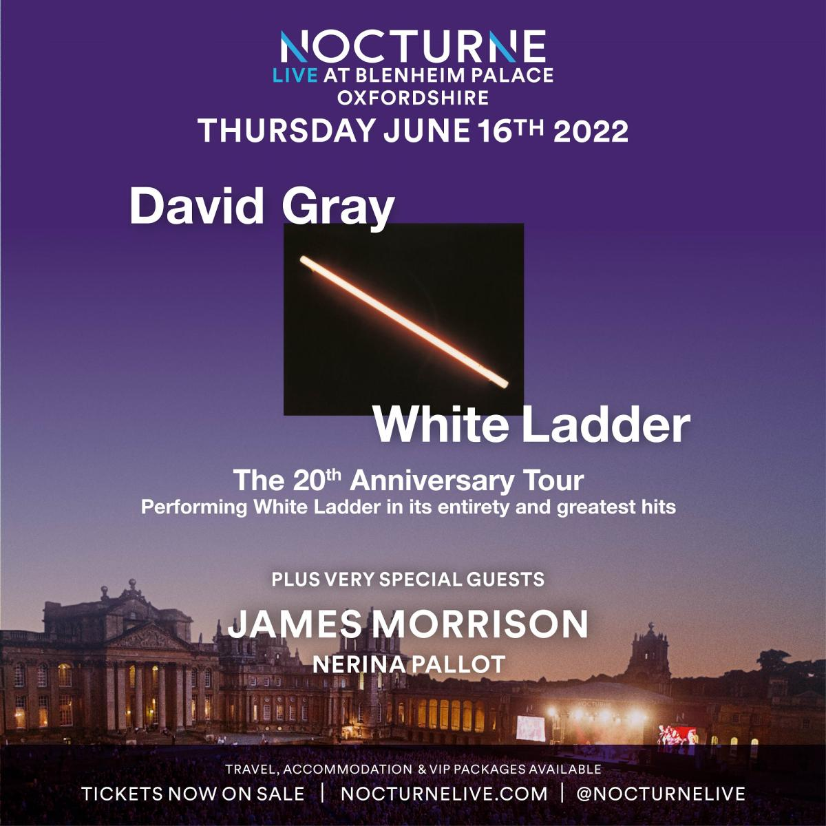 Nocturne Live 2022 at Blenheim Palace - Poster 02