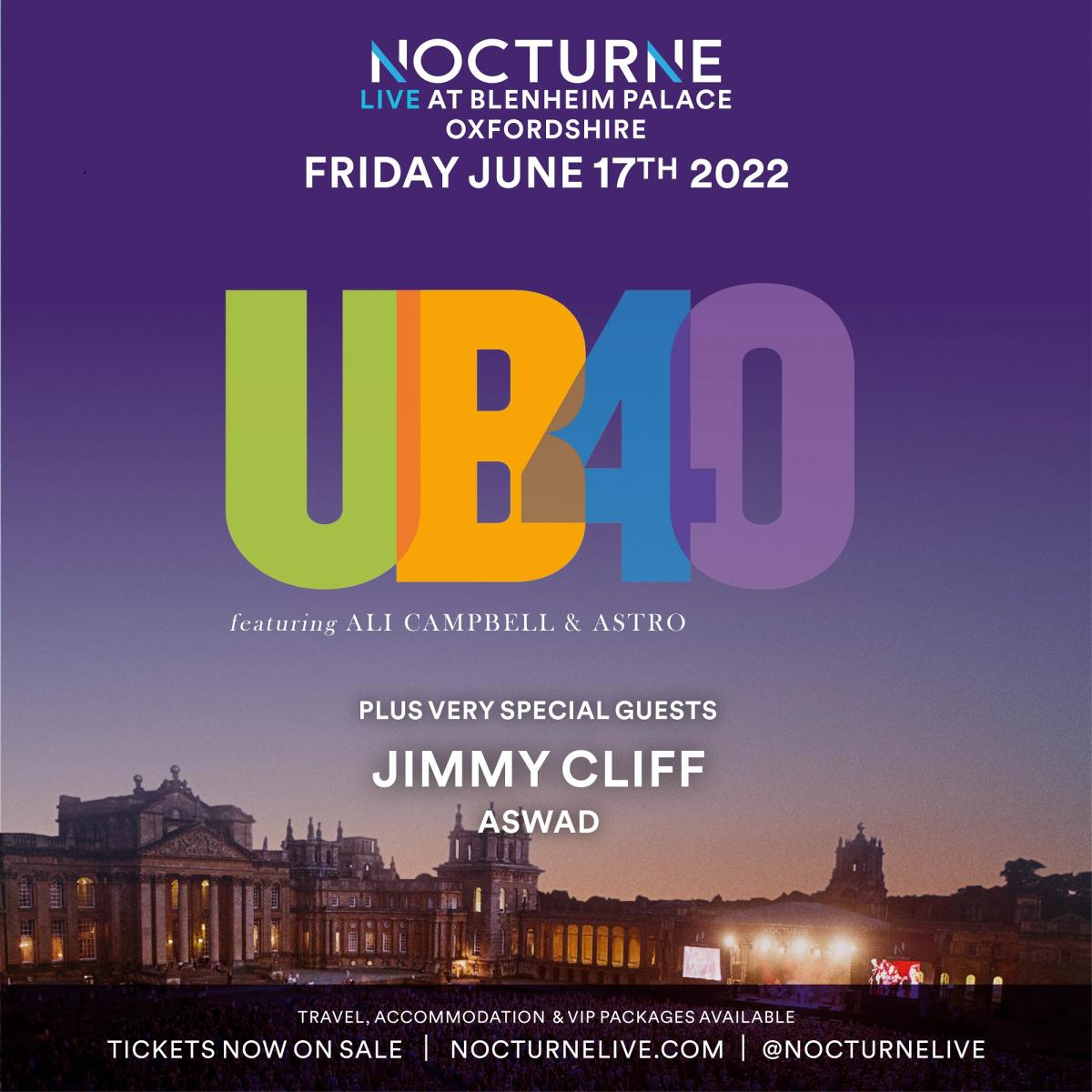 Nocturne Live 2022 at Blenheim Palace - Poster 03