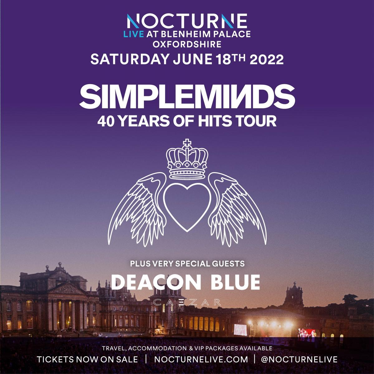 Nocturne Live 2022 at Blenheim Palace - Poster 04
