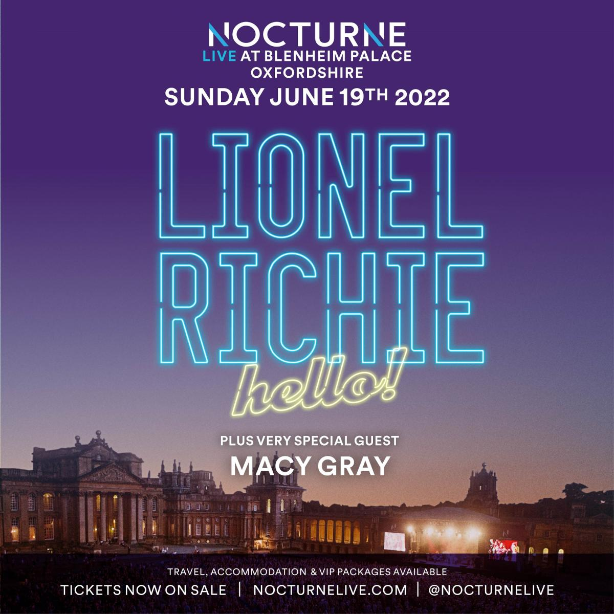 Nocturne Live 2022 at Blenheim Palace - Poster 05