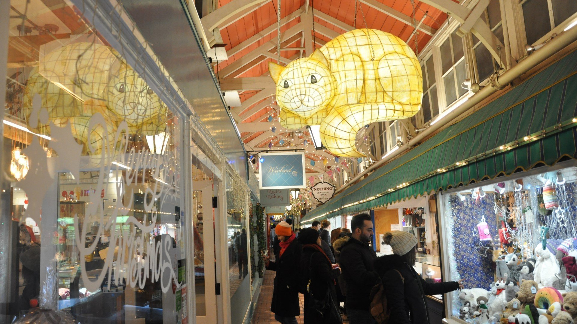 Non-essential shops in Oxford's Covered Market are set to reopen from Monday 12 April