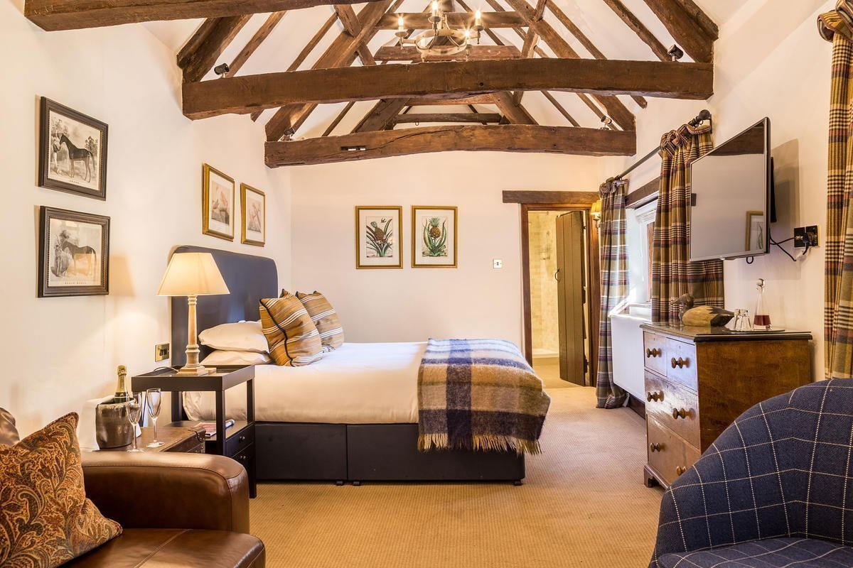 Old Swan Pub Hotel & Spa in Minster Lovell Oxfordshire