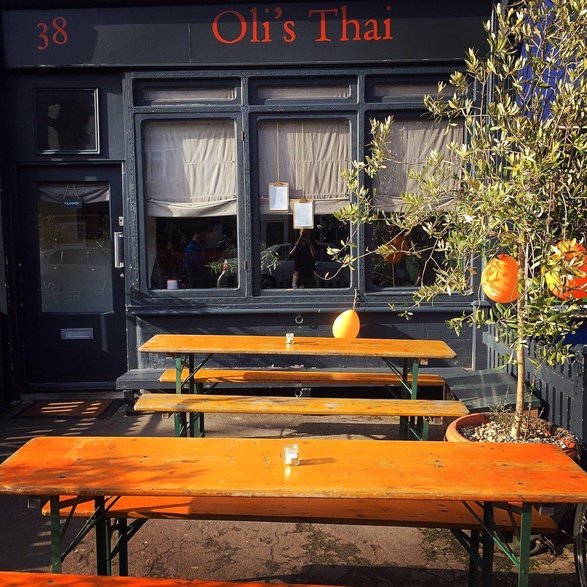 Oli's Thai Restaurant, Magdalen Road, Oxford - Exterior