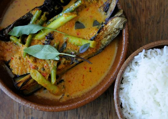 Oli's Thai Restaurant, Magdalen Road, Oxford - Food - Aubergine