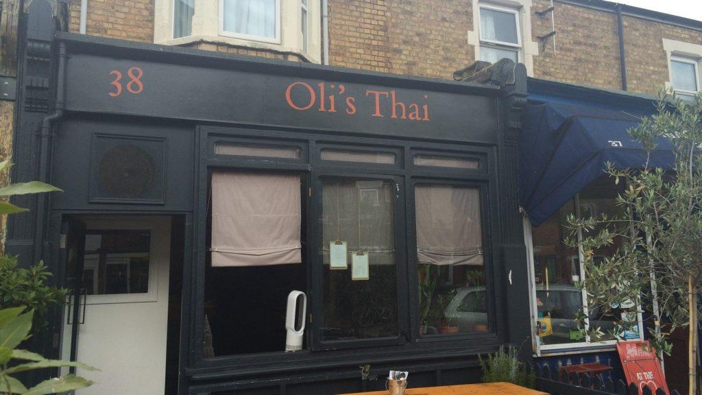 Oli's Thai Restaurant, Magdalen Road, Oxford