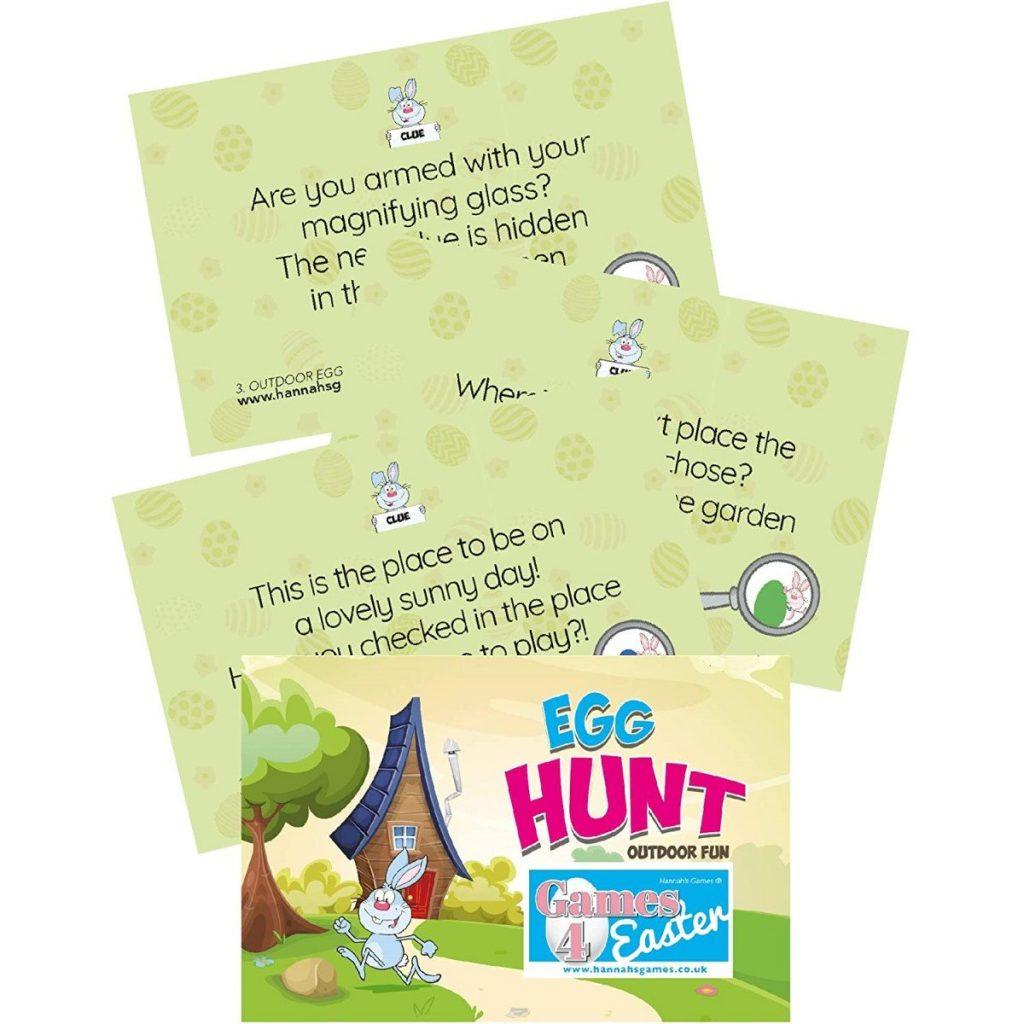 Outdoor Easter Egg Hunt Clues