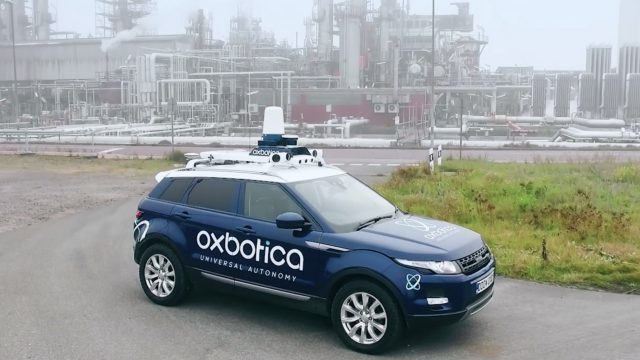 Oxbotica and BP complete autonomous vehicle trial at refinery
