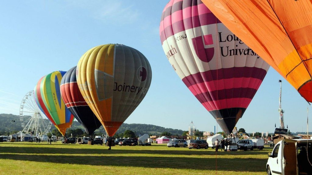 What's on in Oxford and across Oxfordshire this August - Oxford Balloon Festival 2021 - Cutteslowe Park in Oxford