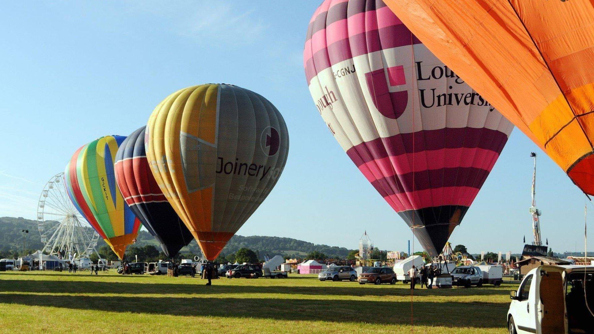 Oxford Balloon Festival 2021 - Cutteslowe Park in Oxford