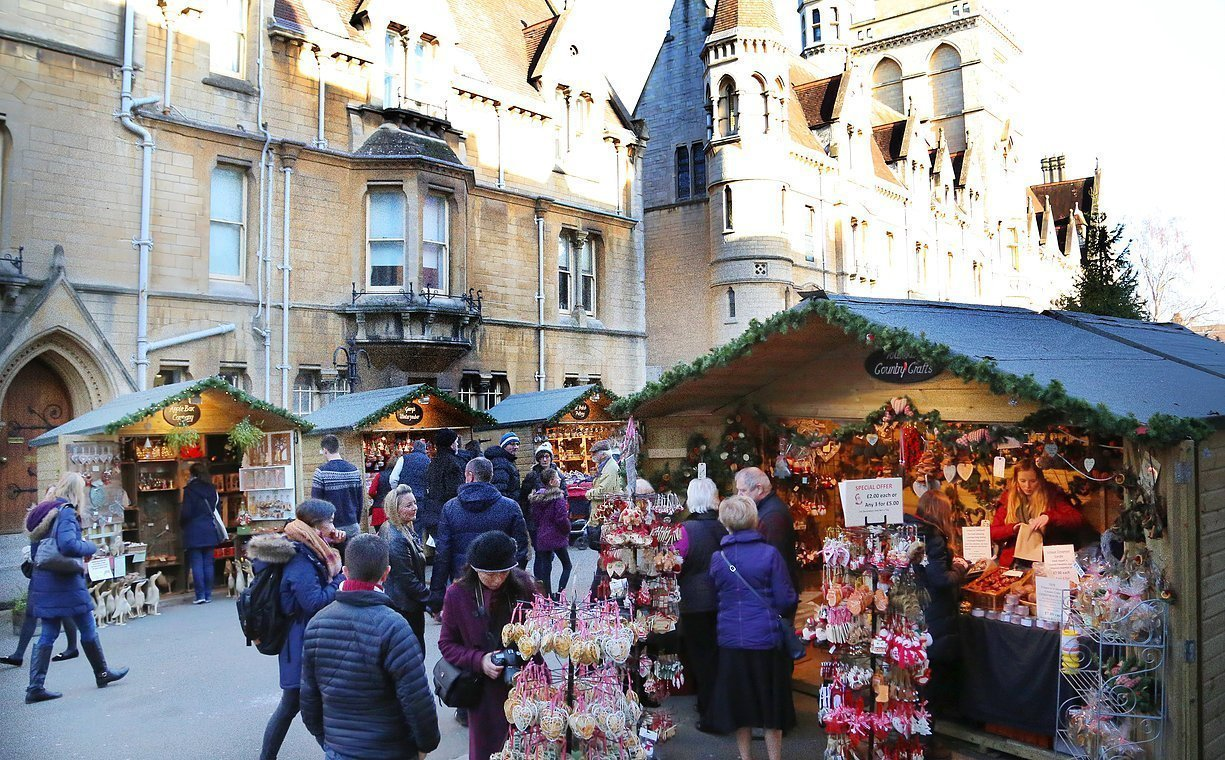 Oxford Christmas Market 2019