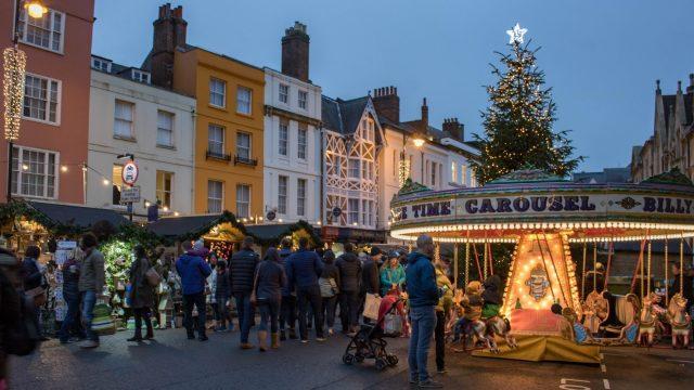 Oxford Christmas Market 2020