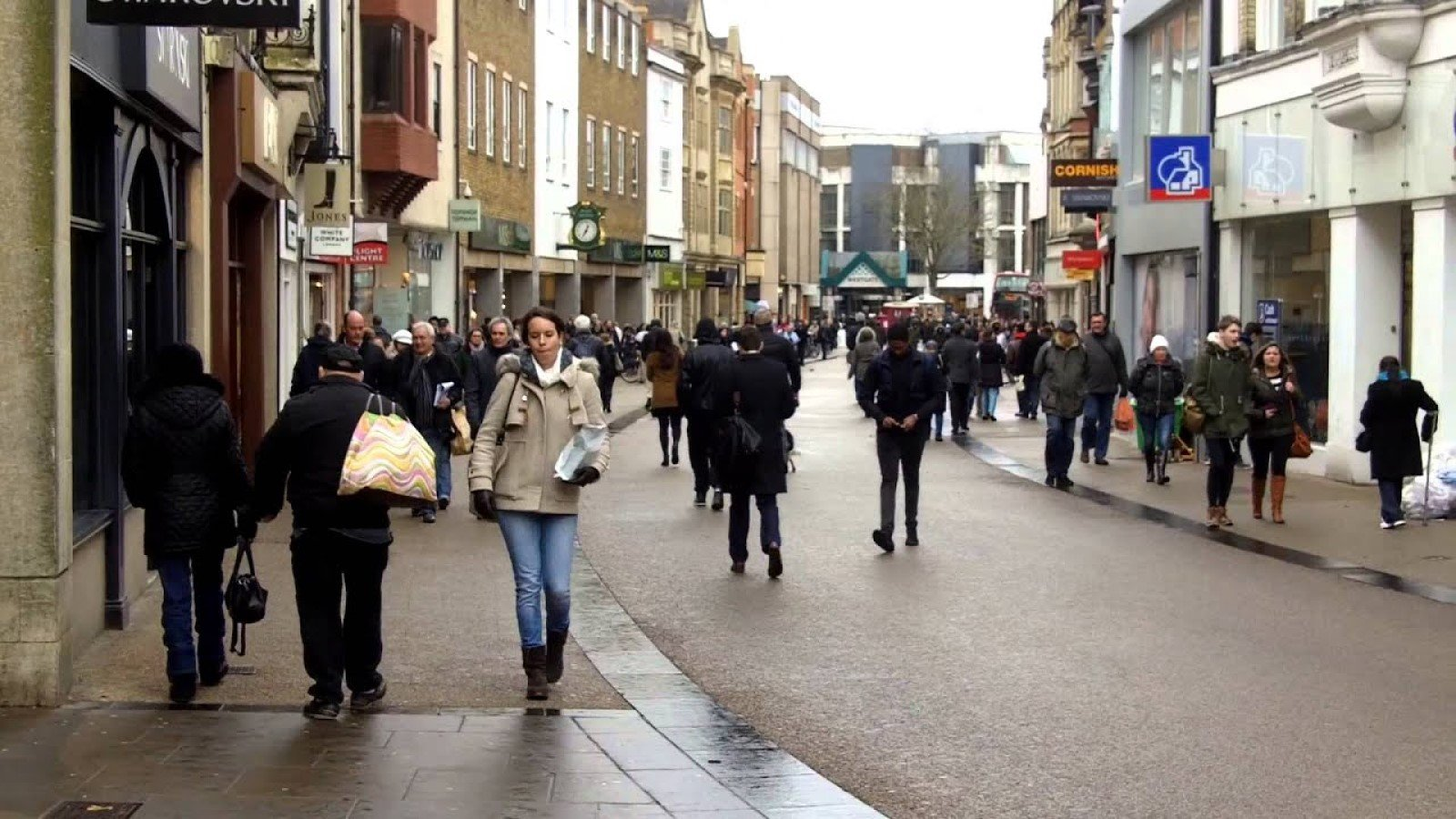 New figures show Oxford city centre has fewer empty shops