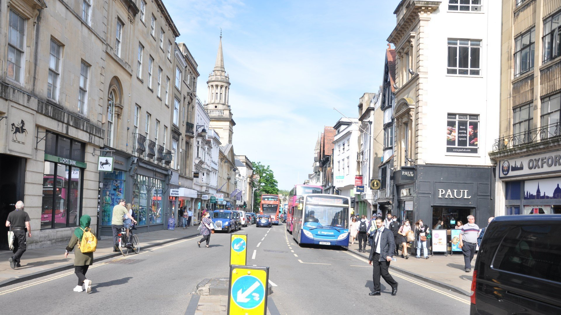 Oxford's Zero Emission Zone pilot launch moved to February 2022
