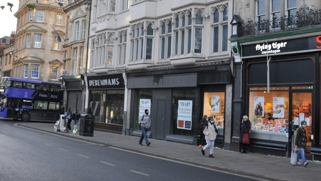 Oxford City Council to launch £1.9m revitalisation of vacant shops across Oxfordshire