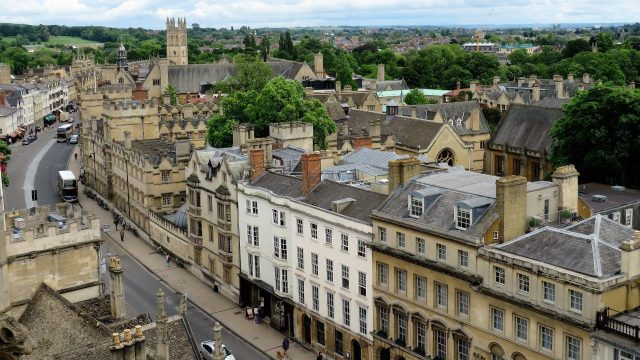 Oxford has 4th best city centre in the UK for specialist attractions