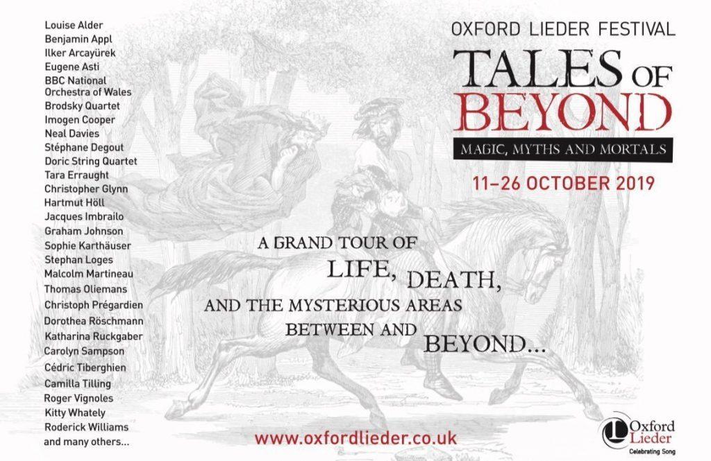 Oxford Lieder Festival 2019 Poster