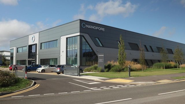 Oxford Nanopore Technologies, MinION Building, Harwell Campus, Didcot, Oxfordshire